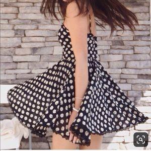 Polka Dot spaghetti strap dress